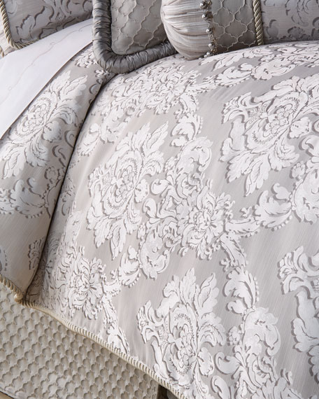 Dian Austin Couture Home Queen Vasari Damask Duvet