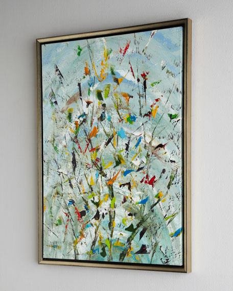 """The Confetti Garden"" Original Oil Painting"