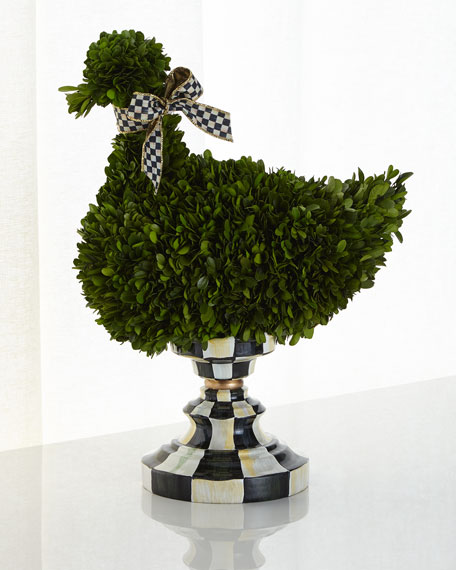 MacKenzie-Childs Duck Topiary