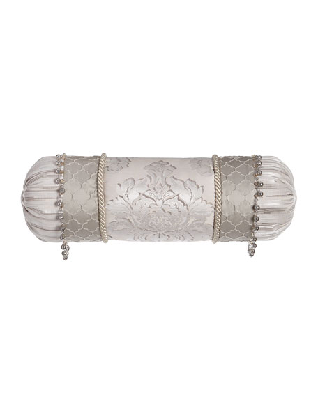 Dian Austin Couture Home Vasari Neck Roll Pillow