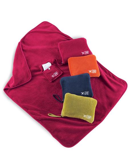 Nap Sac Blanket and Pillow Set