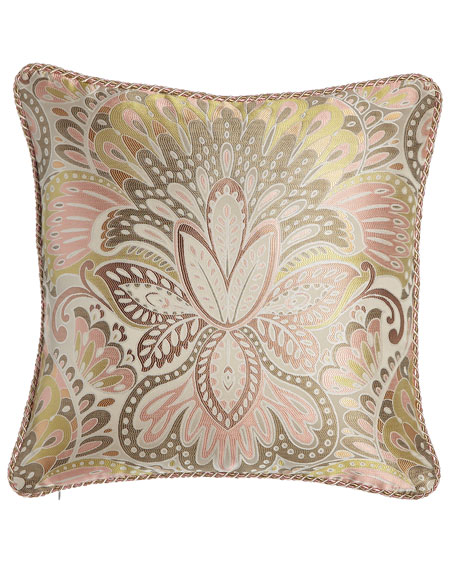 Austin Horn Classics Square Harmony Pillow with Cord