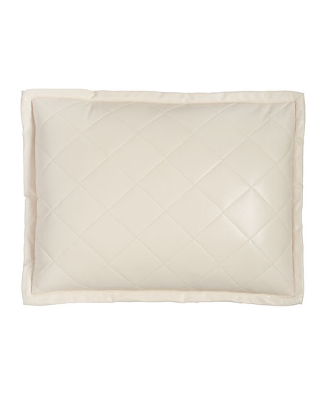 Art of Home by Ann Gish Faux-Leather Pillow,