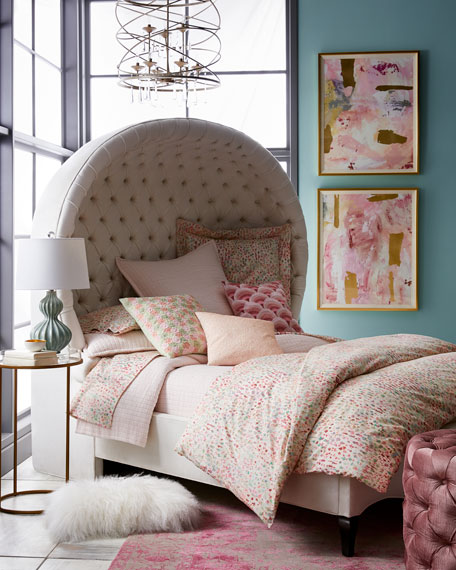 Papillion Queen Balloon Bed