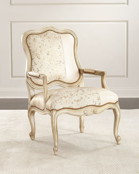 Massoud Luxe and Lacy Bergere Chairs