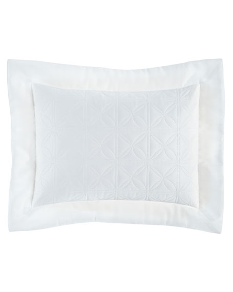 Home Treasures Isla Quilted Boudoir Sham, 12