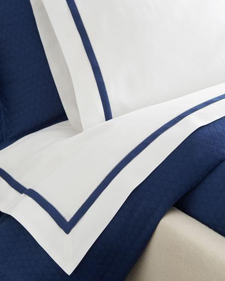 SFERRA Two Standard Oxford Border Pillowcases