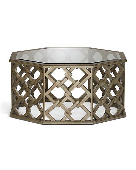 Brucie Hexagonal Coffee Table
