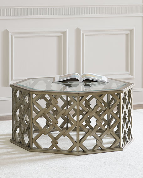 Brucie Hexagonal Coffee Table