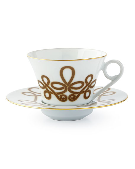 Haviland Brandenburg Gold Tea Saucer
