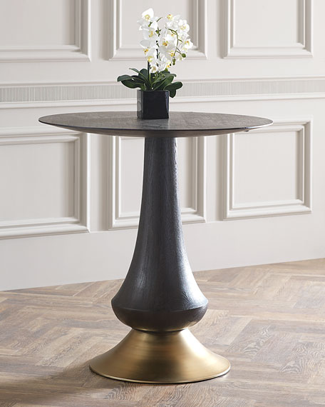 Hooker Furniture Zaria Pub Table & Laurie Upholstered