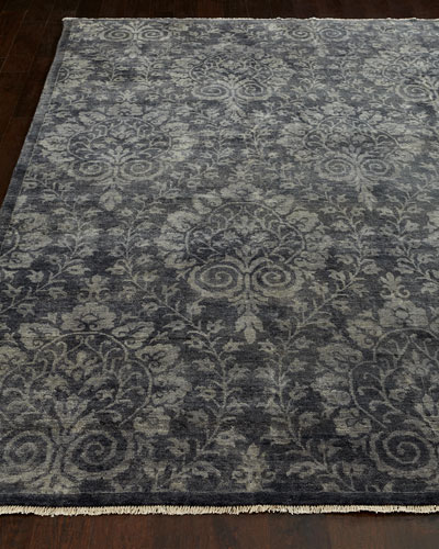Twilight Arabesque Rug, 6' x 9'