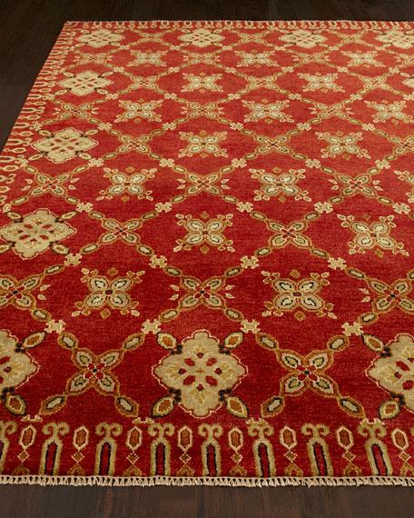 Artisan Floral Rug, 10' x 14'