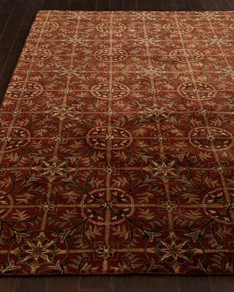 Rustic Tiles Rug, 6' x 9'