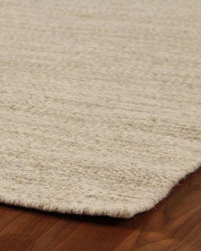 Heathered Flatweave Rug, 10' x 14'