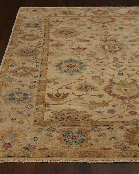 Harounian Rugs International Sable Peshawar Rug, 4' x