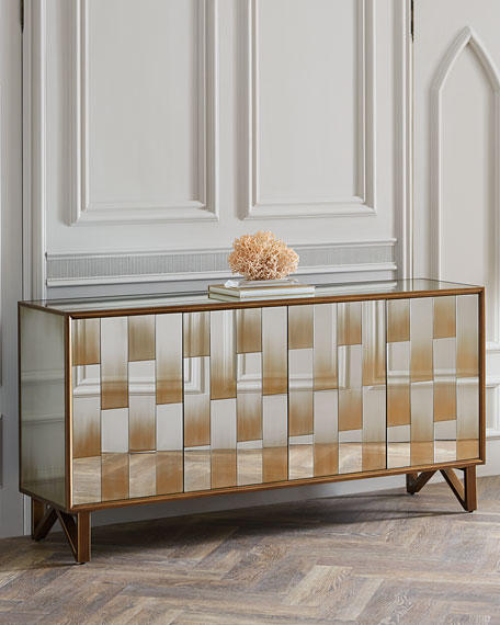 John-Richard Collection Yarbrough Eglomise Console