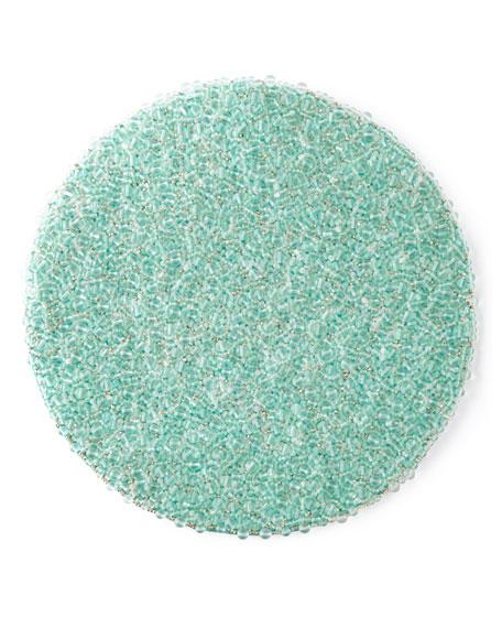 Kim Seybert Frost Round Placemat