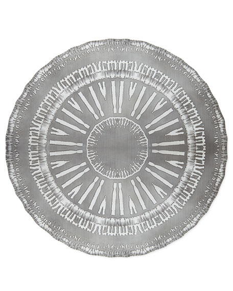 Kim Seybert Flare Placemat, Silver