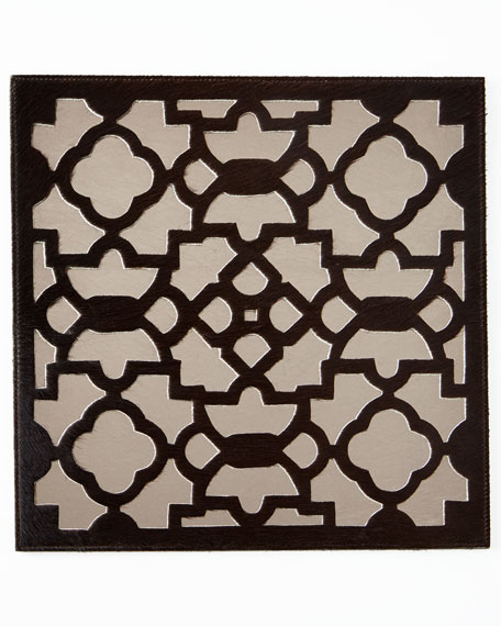 Kim Seybert Casablanca Brown/Pewter Placemat