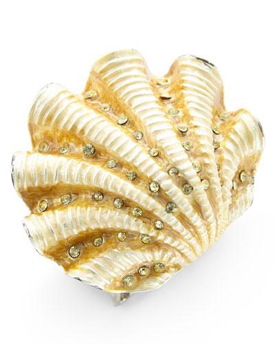 Ivory Coast Shell Napkin Ring