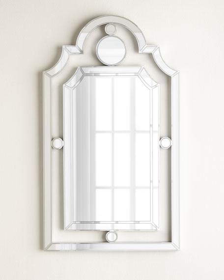 Bold Pagoda Mirror