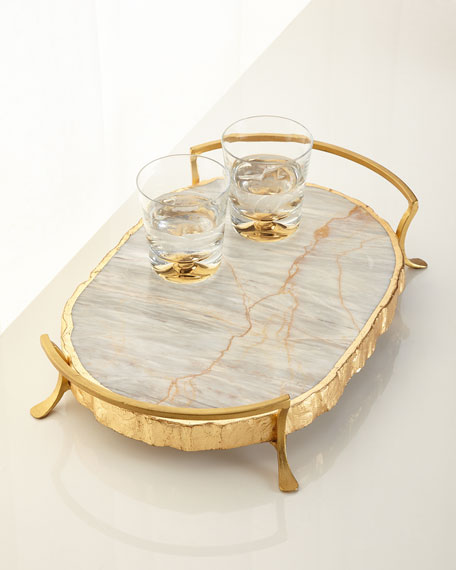 Century Marble Decorative Tr