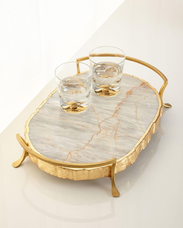 Century Marble Tray Neiman Marcus