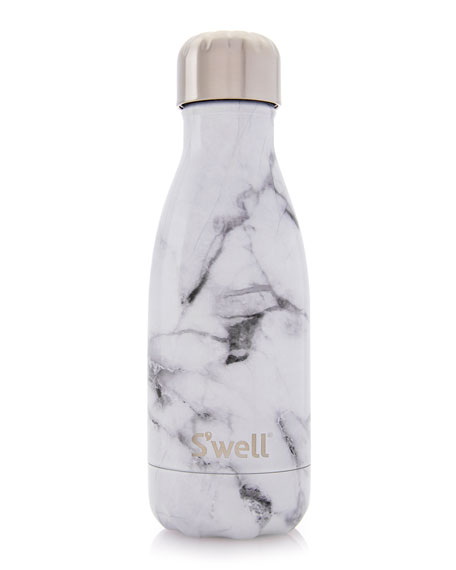S Well Quot White Marble Quot 9 Oz Reusable Bottle Neiman Marcus
