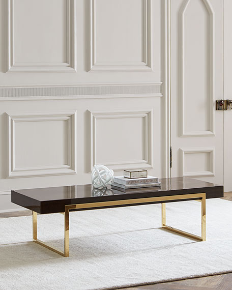 Interlude Home Cronyn Veneer Coffee Table