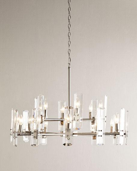 Acrylic icicle chandelier neiman marcus acrylic icicle chandelier aloadofball Image collections