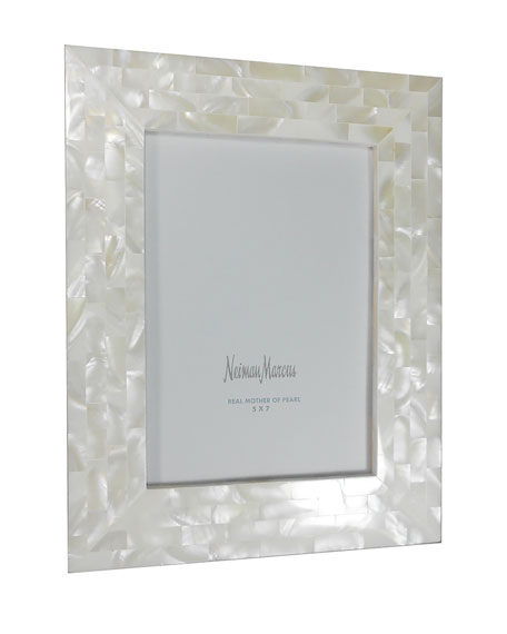 the jws collections mother of pearl frame 5 x 7 - Mother Of Pearl Picture Frame