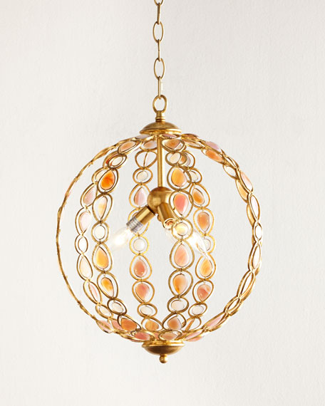 Caroline Agate Pendant Light