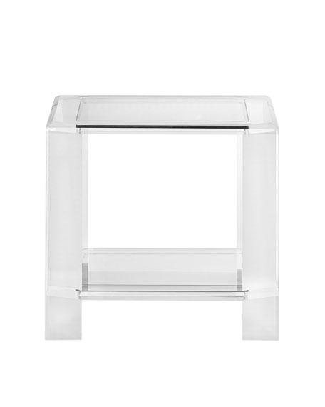Langston Acrylic Side Table