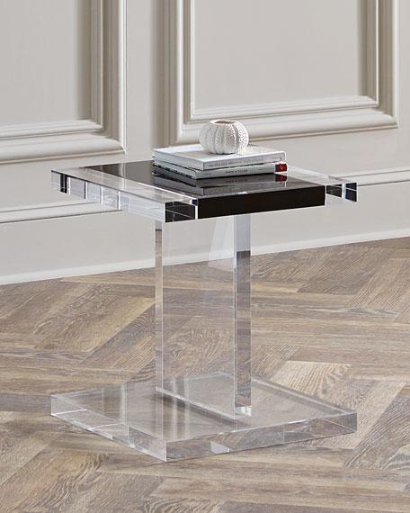 Waldo Acrylic Side Table