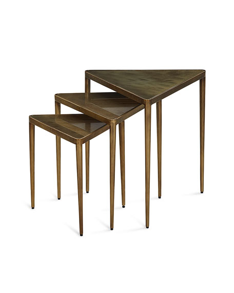 Janine Triangular Nesting Tables