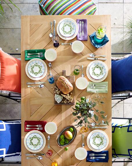 12-Piece Artisanal Dinnerware Service