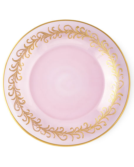 Blush Oro Bello Dinner Plates, Set of 4