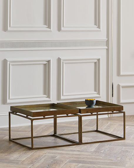 Jacob Bunching Coffee Table Neiman Marcus