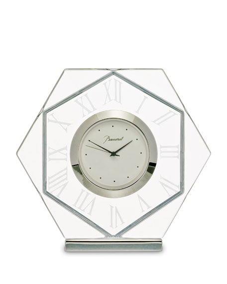Baccarat Abysse Clock, Large