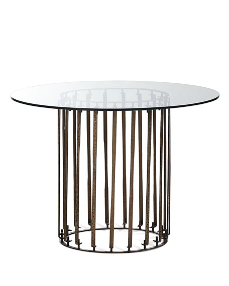 Kyle Iron Entry Table