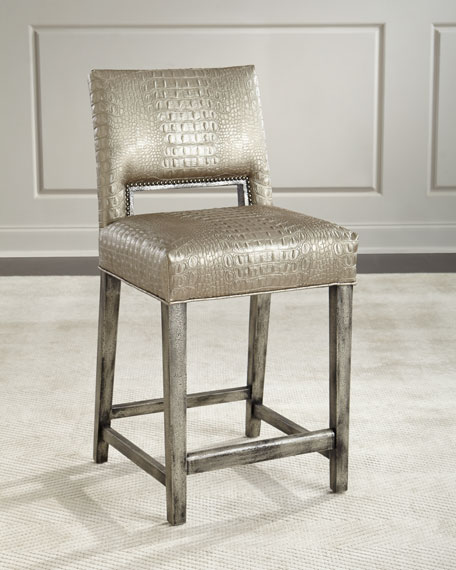 Old Hickory Tannery Valerian Counter Stool and Matching