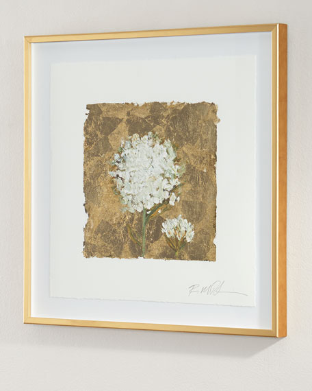 """Gold and Lace"" Giclee on Paper Wall Art"