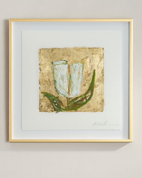 """""""Gold and Tulips"""" Giclee"""