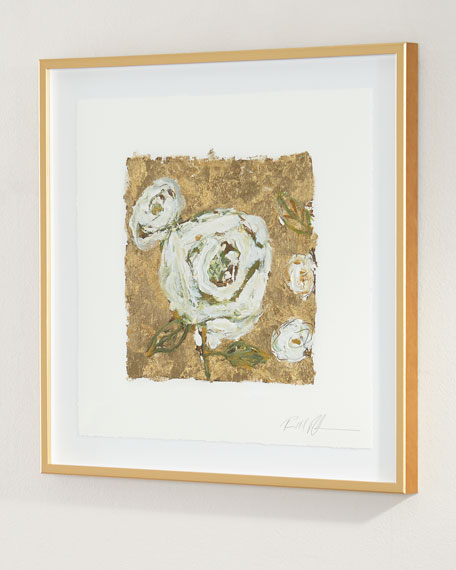 """""""Gold and Roses"""" Giclee"""