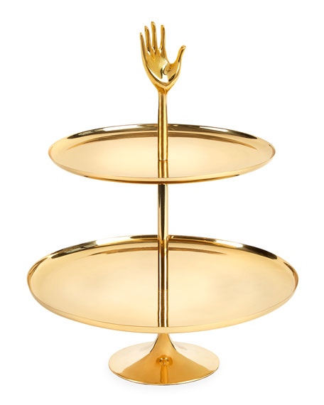 Jonathan Adler Eve Two-Tier Tray