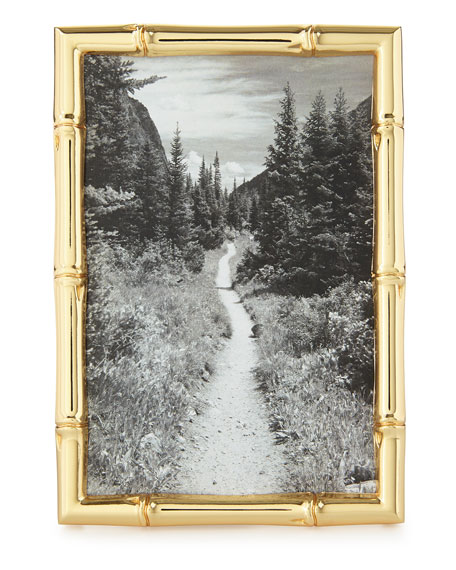 """""""Mayotte Bamboo"""" Picture Frame, 4"""" x 6"""""""