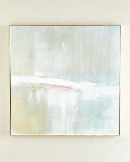 """""""Refuge"""" Square Signed, Embellished Giclee on Canvas Art"""