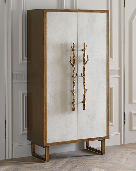 John-Richard Collection Wes Hallwood Tall Cabinet