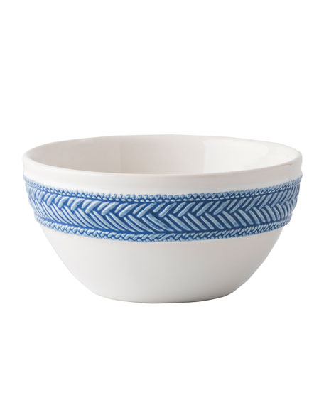 Juliska Le Panier White/Delft Blue Bowl